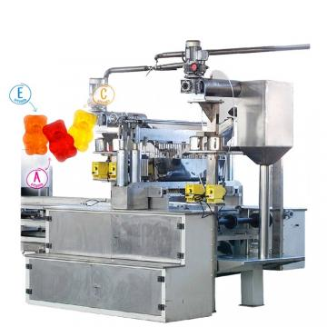 Industry hair vitamins jelly gummy candy manufacturers gummy candy maker machine price