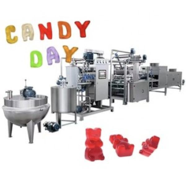 Industry hair vitamins jelly gummy candy manufacturers gummy candy maker machine price #3 image
