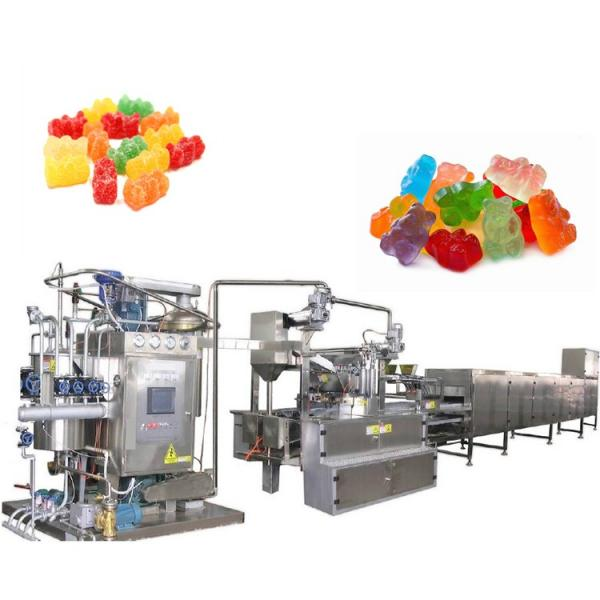 Jelly candy production line with dependable performance, durable gummy candy machines #2 image