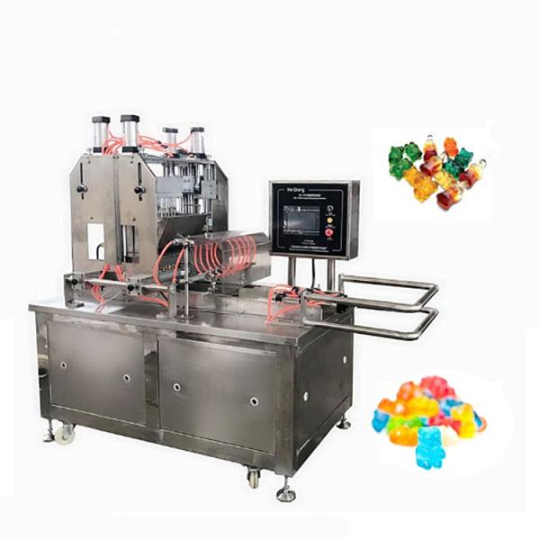 Small Capacity Kids Gummy Candy Depositing Making Machine Line Jelly Candy Molding Machine Starch-less Gummy Candy Depositor #1 image