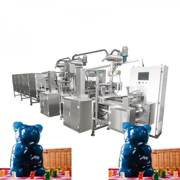 Small QQ candy making machine /Jelly Gummy bear production line /CBD candy manufacture maker in China #1 image