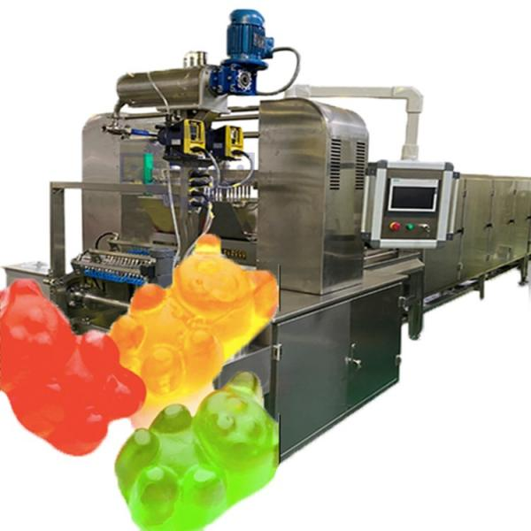 Commercial Candy Making Equipment CLM80Q small gummy bear snack machines soft candy sugar fully automated production line #1 image