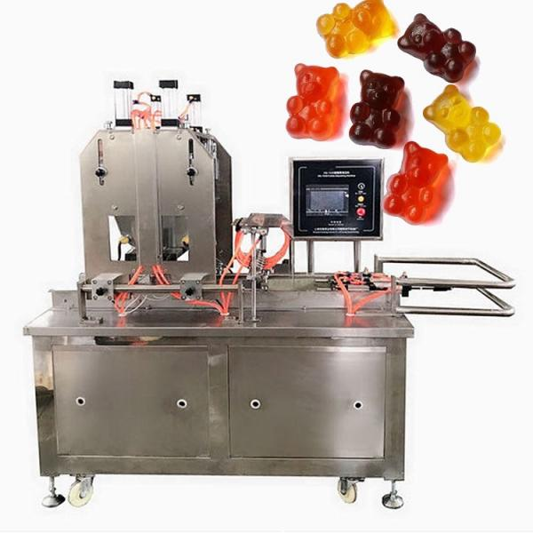 Commercial Candy Making Equipment CLM80Q small gummy bear snack machines soft candy sugar fully automated production line #2 image