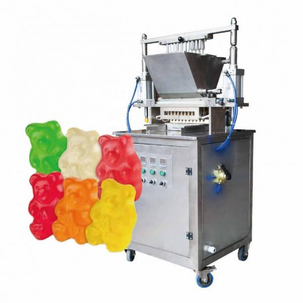 Full Automatic Sweets Vitamin Fruit Jelly Gummy Candy Maker Making Machine #2 image